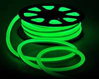 Неон светодиодный гибкий 220V Зеленый