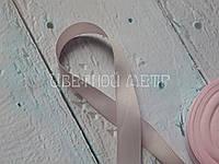 Репсовая лента светло-розовая 2,5 см