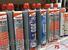 Химический анкер, эпоксид, для влажных отверстий и арматуры - Fischer FIS EM 390 S, 390 мл, фото 3