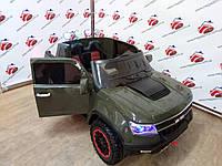 Детский электромобиль Chevrolet А1602, 4 Х 45W, зеленый