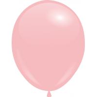 Шарики с гелием  30 см., нежно-розовый