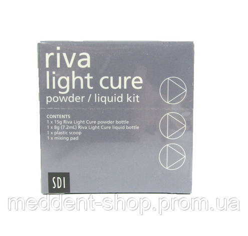 Riva Light Cure (стеклоиномер) А2 А3, фото 2