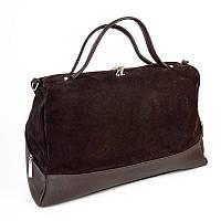 Женская замшевая сумка М113-40/замш