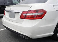 Спойлер сабля тюнинг Mercedes W212
