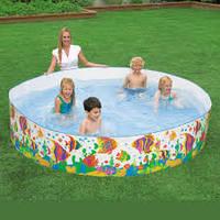 Детский каркасный бассейн Intex 56453 (244х46 см)