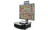 Весы торговые с печатью этикетки ШТРИХ-Принт С 120 4.5 (2 Мб) до 15 кг