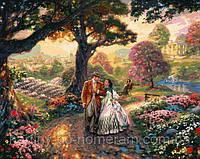 Картина раскраска по номерам VP153 Унесенные ветром худ Кинкейд, Томас (40 х 50 см) Турбо