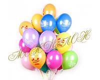 Букет из 30 шаров с днем рождения