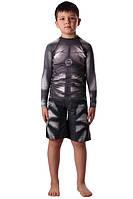 Компрессионный рашгард и шорты ММА Berserk детские IRON black