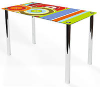 Стол стеклянный Esta-Maya (Comfy Home TM)