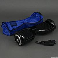 Гироскутер черный А Classic колёса диаметром 6,5 дюймов, Bluetooth, СВЕТ, в сумке