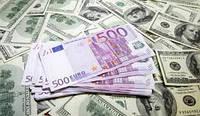 Сувенирные доллары и евро