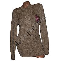 Женский вязаный свитер 303-2 (р-р 46-48) оптом в Одессе. Интернет-магазин Daifa.
