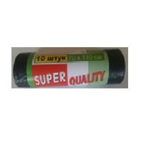Мусорный пакет ТМ SUPER QUALITY     120*10