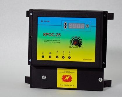 """Автоматика «KROS-25» полупроводниковая класса """"Люкс"""" для 3-фазных систем до 25 кВт"""