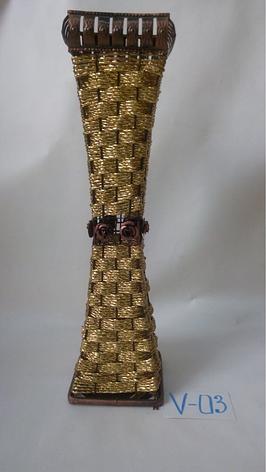 Ваза плетеная, фото 2