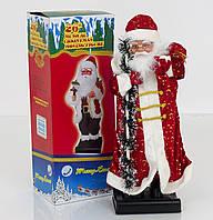 Дед Мороз музыкальный, озвучивание на русском, в коробке, 62см