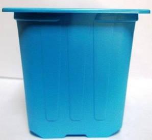 Горщик для розсади 7*7*6,5 блакитний