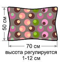 """Ортопедическая гречневая подушка """"Воздушный сон"""" 50x70 БиоПодушка"""