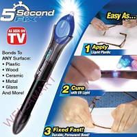 Супер-мощный жидкий пластик 5 seconds to fix