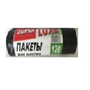 Мусорные пакеты ТМ Super Luxe 120*10