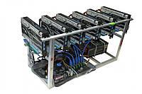 GPU ферма на 6 видеокарт Sapphire Radeon RX 480 4gb