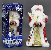 Дед Мороз С 23442 (12) музыкальный, в коробке, 45
