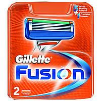 Сменные кассеты для бритья Gillette Fusion (2шт.)