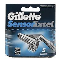 Сменные кассеты для бритья Gillette Sensor Excel  (5 шт.)