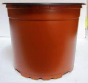 Горщик для розсади 9см 330мл коричневий
