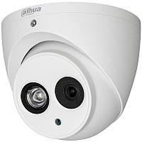 Купольная HD-CVI видеокамера DAHUA DH-HAC-HDW1400EMP