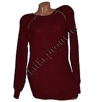 Женский вязаный свитер R518-3 (р-р 46-48) оптом в Одессе. Интернет-магазин Daifa.