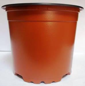 Горщик для розсади 10см 400мл коричневий