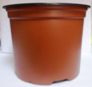 Горщик для розсади 13см 885мл коричневий
