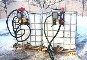 Мини заправка для дизельного топлива