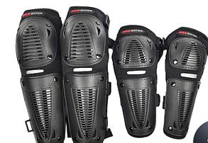 Комплект защиты колен и локтей для мотоциклистов., фото 2