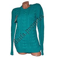 Женский вязаный свитер R527-2 (р-р 46-48) оптом в Одессе. Интернет-магазин Daifa.