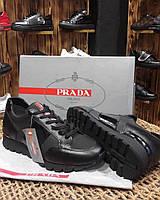 Кроссовки мужские PRADA D2331 черные