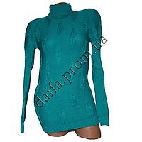 Женский вязаный свитер R529-1 (р-р 46-48) оптом в Одессе. Интернет-магазин Daifa.