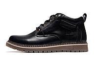 Зимние мужские ботинки Timberland, черные, натуральная кожа, р. 40 41 42 43 44