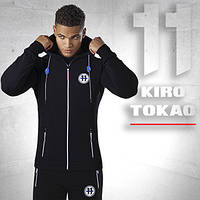Kiro Tokao 183 | Теплый спортивный костюм мужской черный