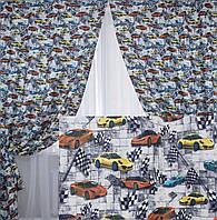 Комплект готовых штор для детской комнаты. Код 161ш