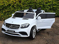 Детский электромобиль джип Mercedes GLS 63, белый (Hl228) (3565)