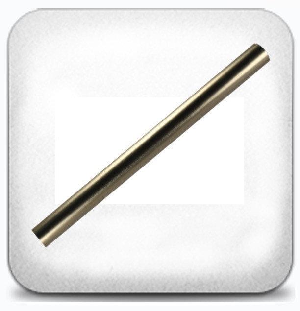 Труба гладкая 16 мм 3,0 м, сатин