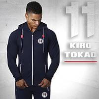 Kiro Tokao 183 | Мужской спортивный костюм т-синий