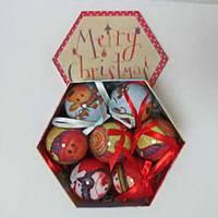 """Подарочный набор шаров """"Веселые мордашки"""" 14 шт, 7,5 см. 10205"""
