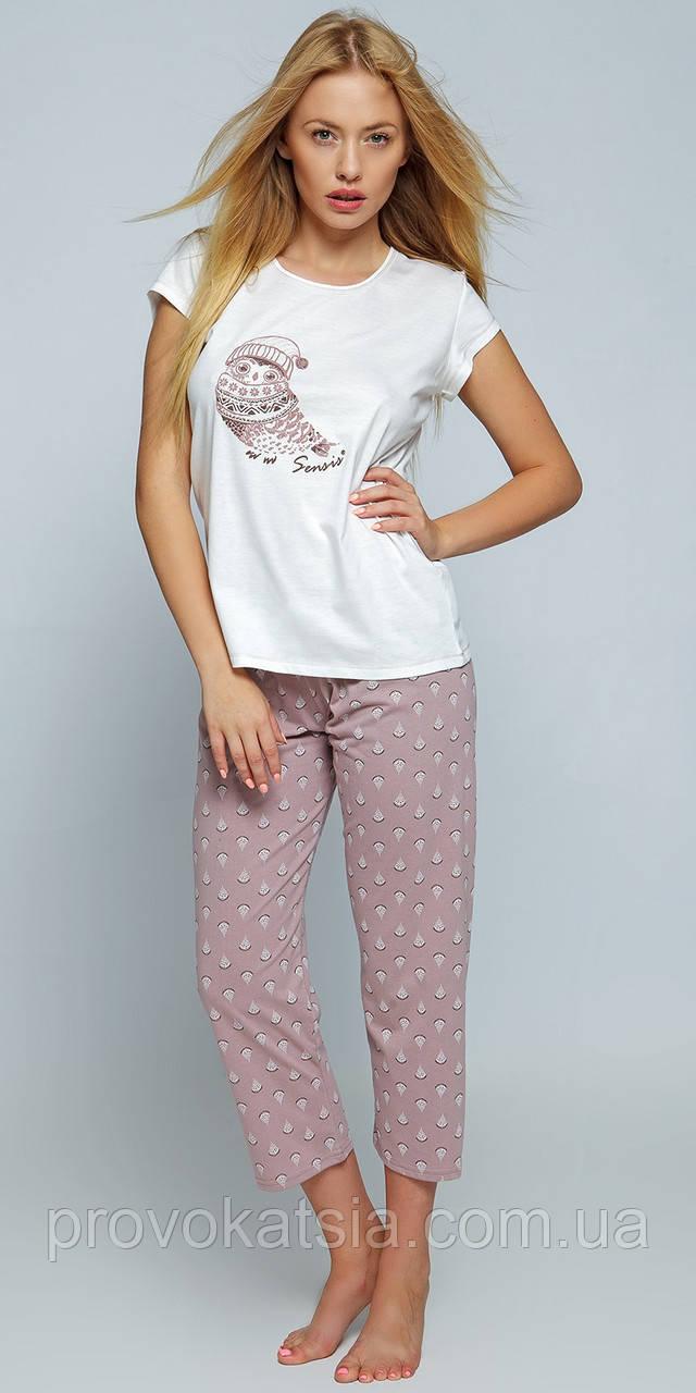Женская пижама с бриджами Erin Pizama Sensis