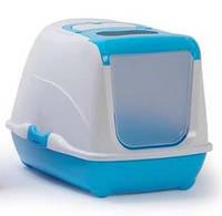 Туалет Moderna C230181 Flip Cat (Флип Кэт) закрытый для кошек ярко-голубой