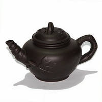 Чайник глиняный «Ветка», 450 мл.