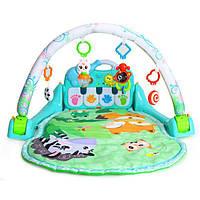 """Игровой развивающий центр Huile Toys """"Поляна сказок"""", детский развивающий коврик"""